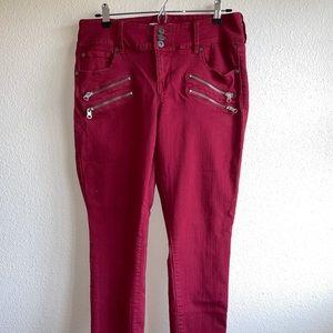 Torrid Brick Red Denim Jeans Plus Size